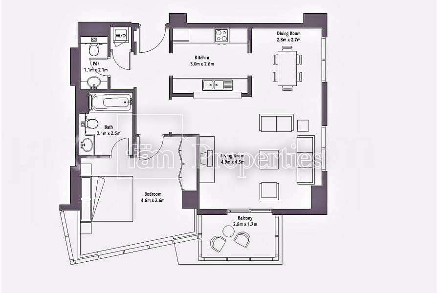10 BEST LAYOUT |  PRICE REDUCED | BIG 1 BED
