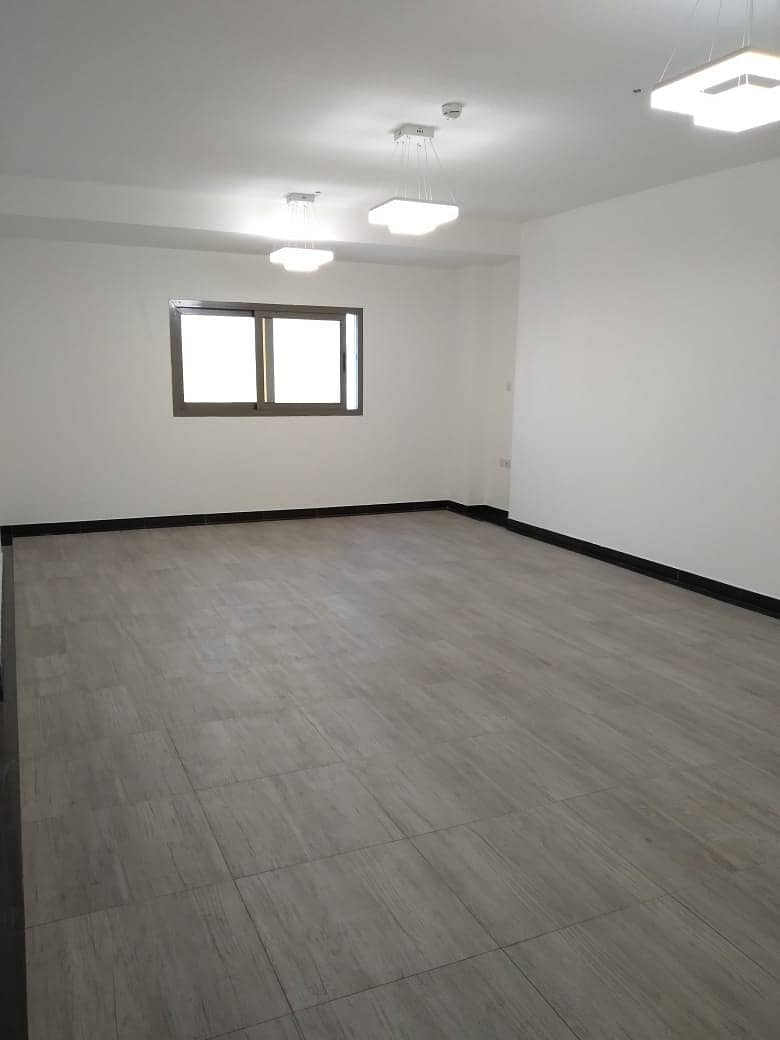 A studio for rent in Al Tawuon area NEW BRAND with a free parking and month free