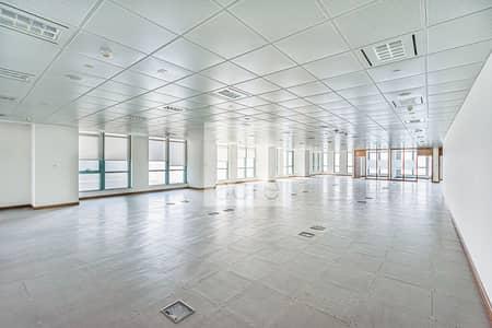 مکتب  للايجار في منطقة الكورنيش، أبوظبي - Mid Floor   Fitted Office   Good Location
