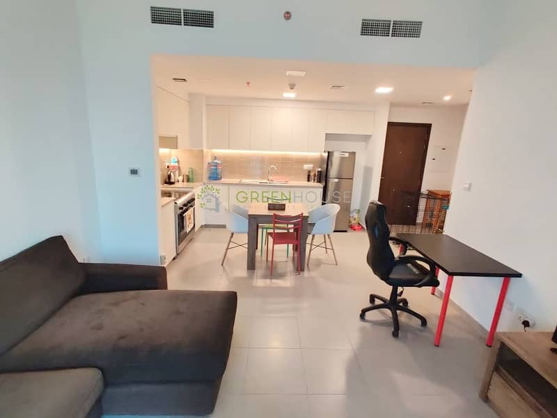 Fully Furnished Beautifully Designed 2 BHK Apt with Double Balcony | Safi 1A