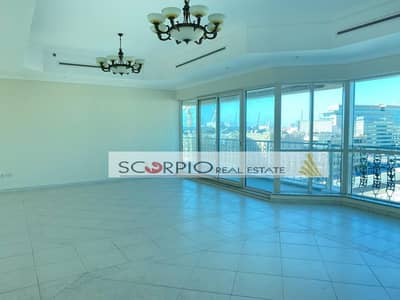 3 Bedroom Flat for Rent in Al Badaa, Dubai - Chiller Free !! Huge Size l  Amazing View l 3 Bedrooms Apartment Maids Room in Al Ghazal Al Badaa