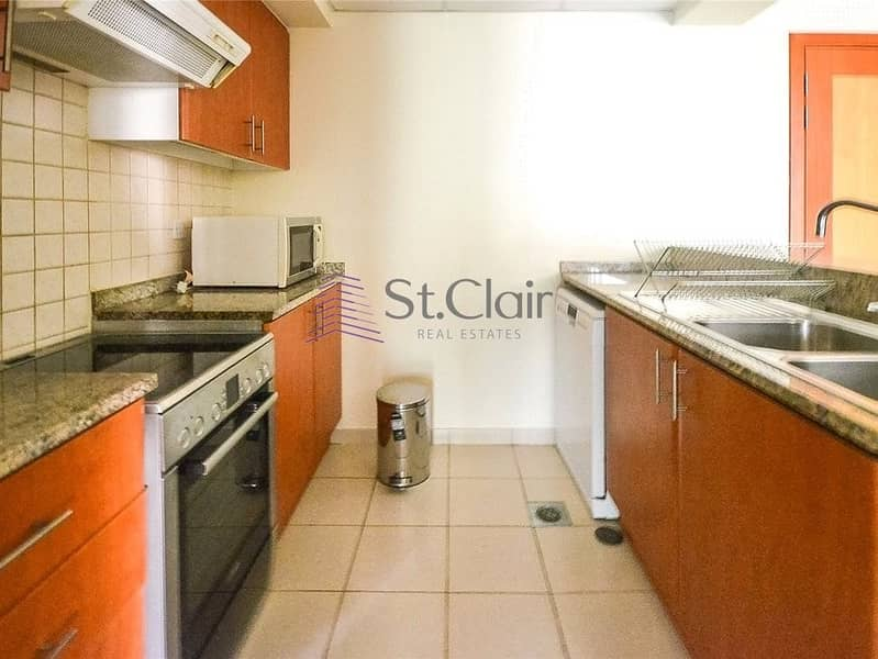 2 Greens 1 Bed Room Huge Apartment with Terrace 645K