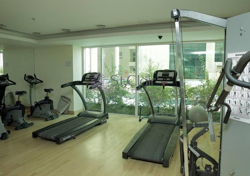 10 Greens 1 Bed Room Huge Apartment with Terrace 645K