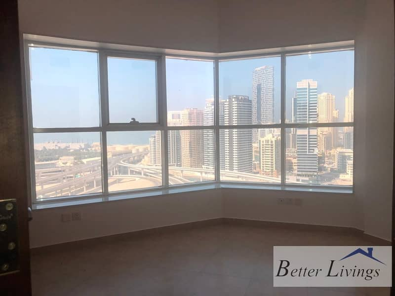14 High Floor   Nice Layout   Balcony   Parking    Sheikh Zayed Road Facing