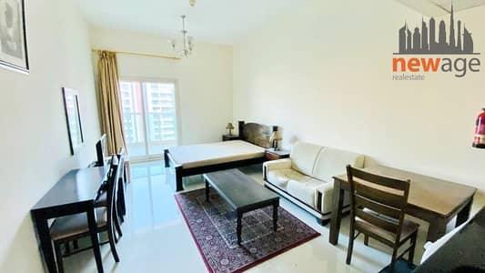 Studio for Rent in Dubai Sports City, Dubai - Studio (Fully Furnished ) Rent In Elite Residence 2