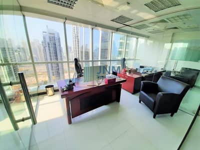 Office for Rent in Jumeirah Lake Towers (JLT), Dubai - Great Opportunity! Partitioned & Furnished Office