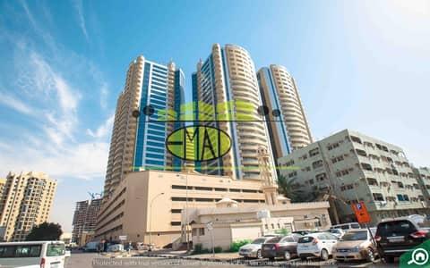 Studio for Rent in Ajman Downtown, Ajman - Horizon Towers: Lavish Studio (669 sqft) spacious apartment