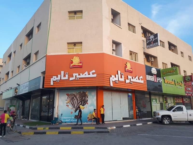 للبيع بنايه بموقع مميز جدا بالروضه مباشر علي شارع الشيخ عمار زاويه شارعين بدخل مميز جدا