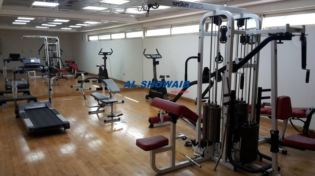 14 2 BHK| 3 BATH |BALCONY |GYM |PARKING| AL RAFFA
