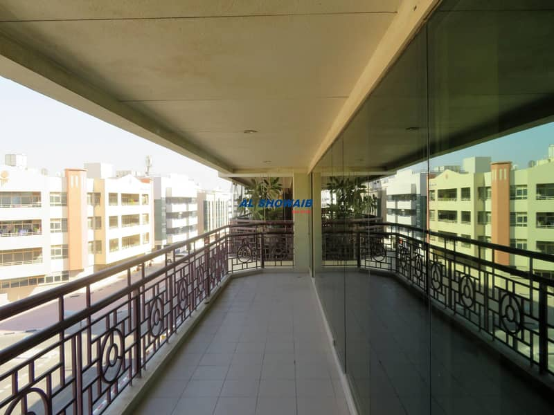2 BHK| 3 BATH |BALCONY |GYM |PARKING| AL RAFFA