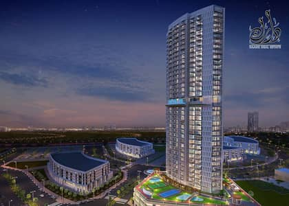 2 Bedroom Flat for Sale in Arjan, Dubai - OWN LUXURY APARTMENT 2BRK AT THE HIGHEST TOWER WITH BEST PRICE BEST PAYMENT PLAN 5 YEARS  W GOOD EXCLUSIVE DISCCOUNT