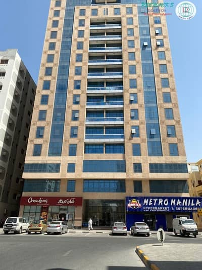 2 Bedroom Flat for Rent in Abu Shagara, Sharjah - 13 MONTHS CONTRACT 2 B/R HALL WITH SPLIT DUCTED A/C AND BALCONY BEHIND MEGA MALL
