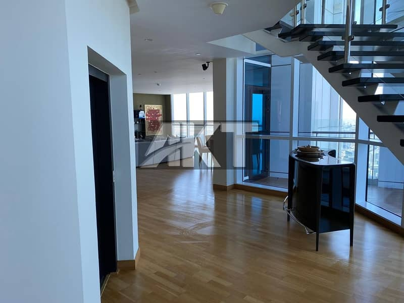 26 5 M / Upgraded Penthouse/ 4 Beds +Maid / Full Panoramic Sea View / Duplex