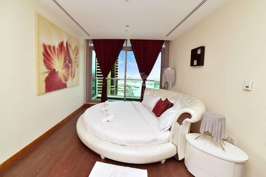 Elegant 3bed+ maids | fully furnished | Iris blue