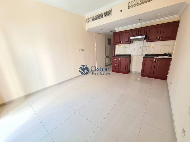 Luxury studio flat with balcony 1 month free in al taawun