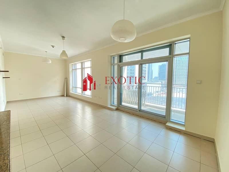 Upgraded Balcony    Studio Apartment in Burj Podium