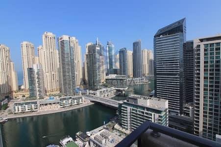 شقة 1 غرفة نوم للايجار في دبي مارينا، دبي - 1 Bed On High Floor