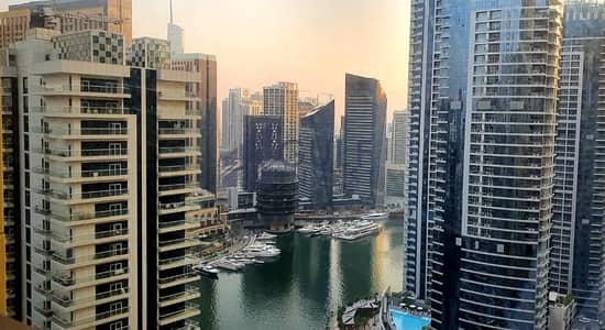 4 Bedroom Apartment for Rent in Jumeirah Beach Residence (JBR), Dubai - High floor 4bd in Sadaf with sea and marina view