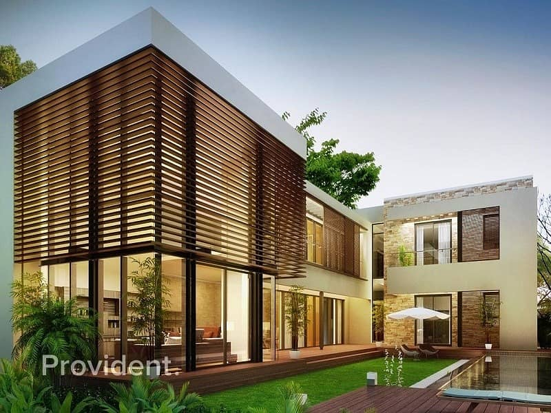 Luxury 4BR Forest Villa | 40% After Handover