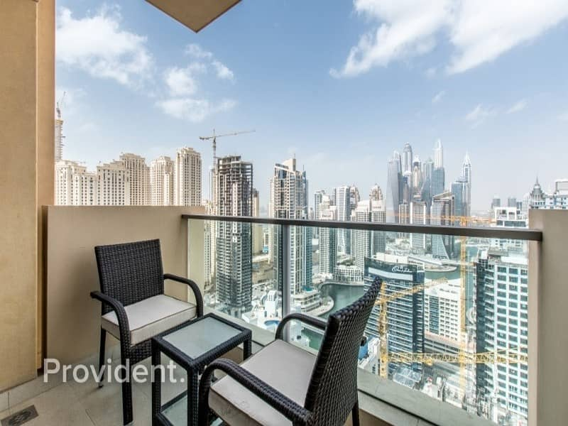 2 Marina Views | Fully furnished | High ROI