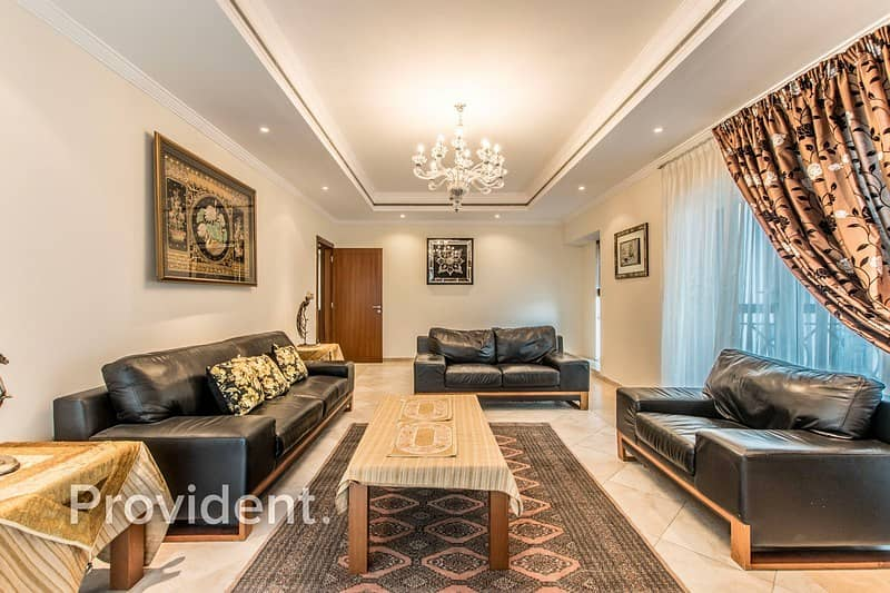 2 Vacant | Furnished | High Floor | Maids Room