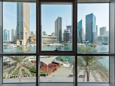 فیلا 3 غرف نوم للبيع في دبي مارينا، دبي - 3 Bed with Full Marina View | Waterfront Facing