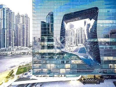 Office for Sale in Business Bay, Dubai - Huge Office in Opus with Void and Lake View