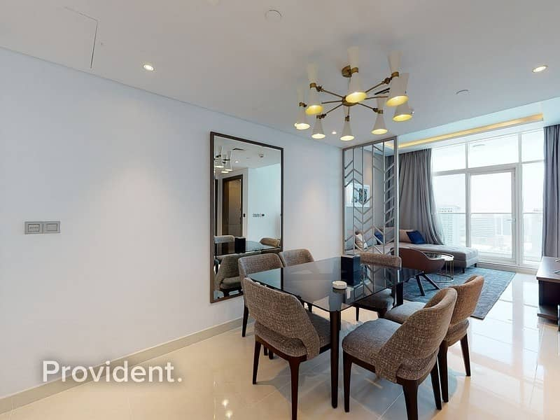 2 Amazing Brand new and Fully Furnished|Facing Canal