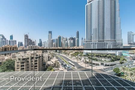 1 Bedroom Flat for Sale in Downtown Dubai, Dubai - Burj Khalifa and Boulevard View | Vacant