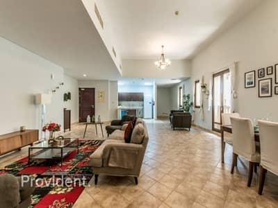 1 Bedroom Flat for Sale in Dubai Festival City, Dubai - Impressive Ground Floor Massive 1B/R+Study -Vacant