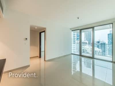 1 Bedroom Flat for Rent in Downtown Dubai, Dubai - Pool & Dubai Mall View|With Kitchen Appliances