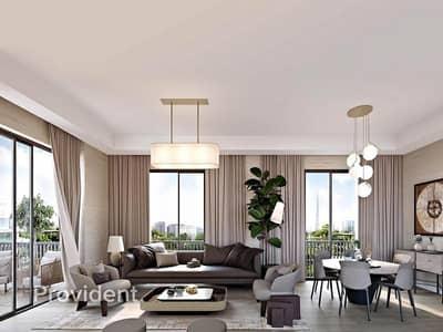 فلیٹ 2 غرفة نوم للبيع في مدينة محمد بن راشد، دبي - Resale 2 BR | Corner Unit with Full Park View