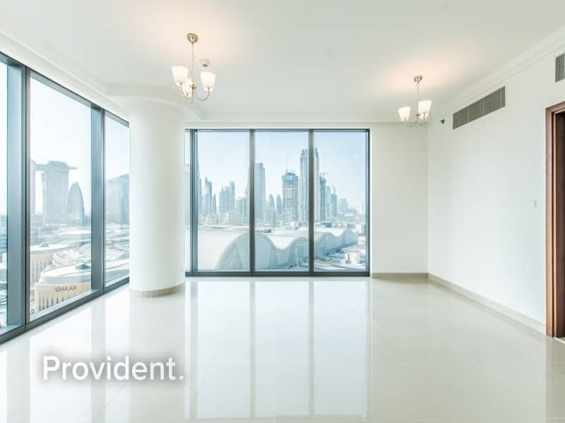 2 Burj Kh. View|Closed Kitchen | Corner unit |