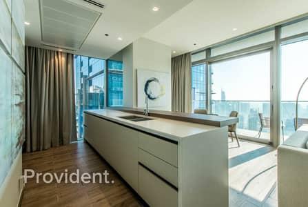 شقة 2 غرفة نوم للبيع في دبي مارينا، دبي - Resale Unit | Vacant | Marina and Sea Views