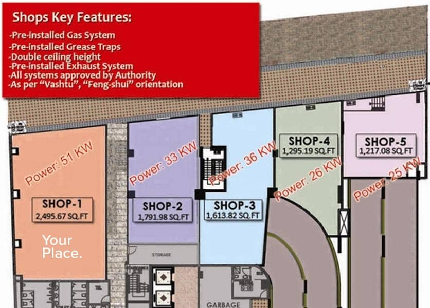 15 Retail Shop in Business Bay for your business