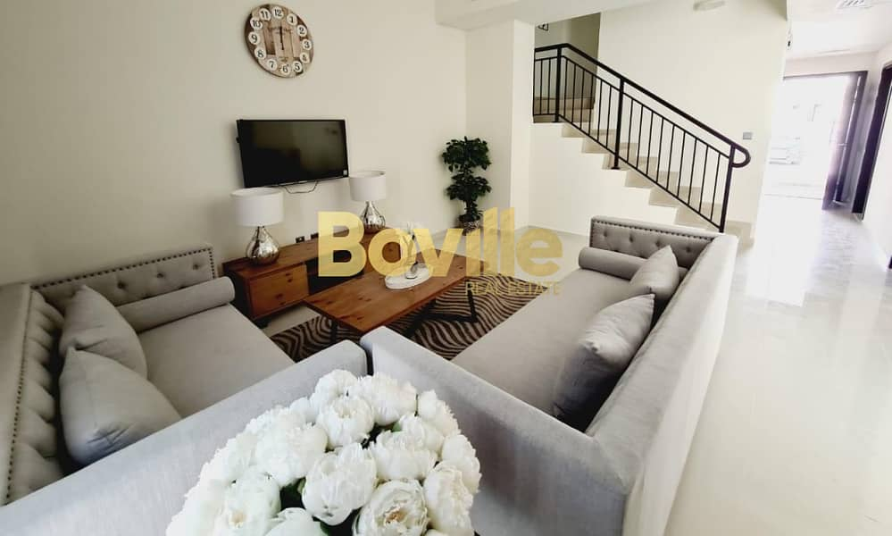 2 Fully Furnished| Vacant 3 Beds Townhouse| Type R2-M14
