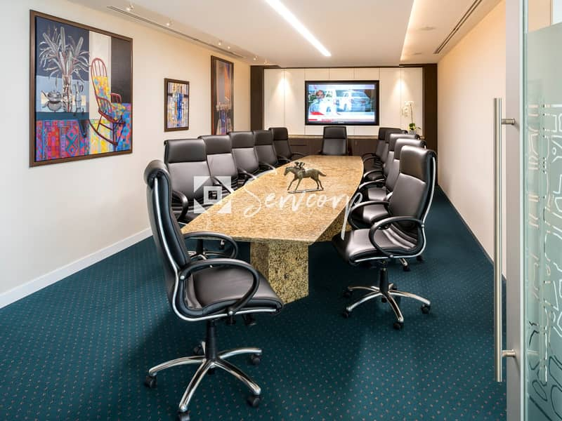 2 Luxurious fitted offices in World Trade Center Abu Dhabi