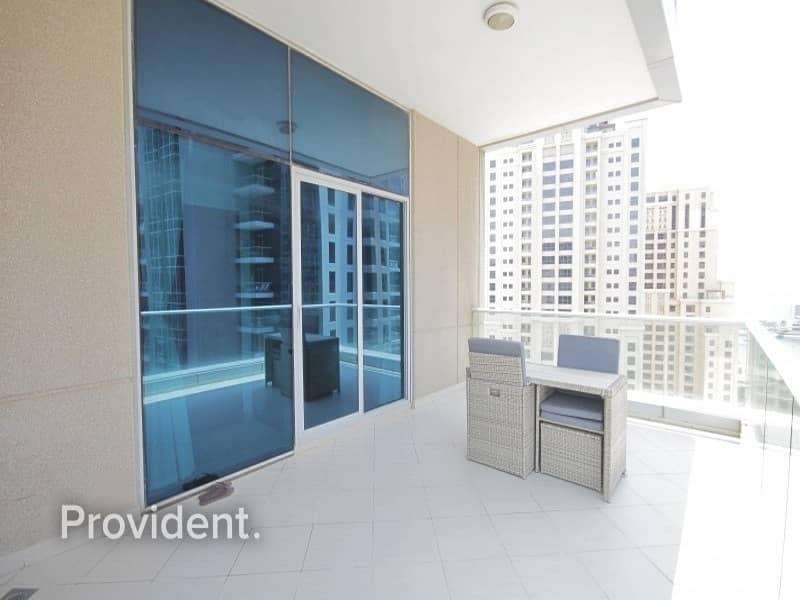 2 Stunning Upgraded Cozy Large Balcony| Heart of Marina