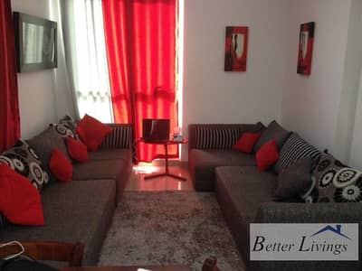 1 Bedroom Flat for Rent in Dubai Production City (IMPZ), Dubai - FURNISHED ONE BED FOR RENT IN LAKESIDE IMP[Z