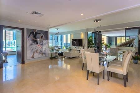 3 Bedroom Apartment for Sale in Dubai Marina, Dubai - Luxury Living   Study & Maids   Huge Balcony