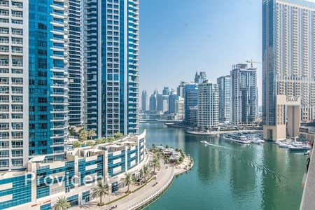 2 Bedroom Apartment for Rent in Dubai Marina, Dubai - Waterfront Duplex | Full Marina View | Sea View