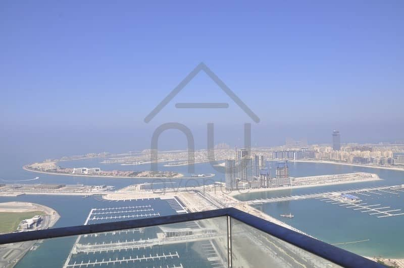 Spacious Fendi One Bedroom With Full Sea And Palm View