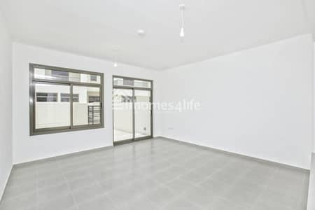 4 Bedroom Townhouse for Rent in Town Square, Dubai - Boulevard View | Vacant | Close To The Entrance