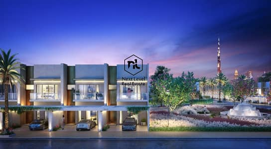 تاون هاوس 2 غرفة نوم للبيع في مدينة محمد بن راشد، دبي - Affordable townhouse in Meydan