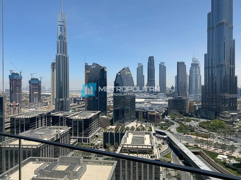 11 Vacant |Biggest 2Bed |Middle unit |Full Burj view