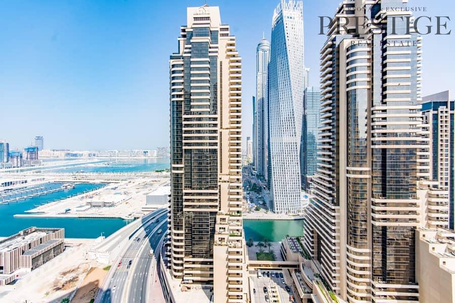 Studio for Rent - Botanica - Dubai Marina - Sea Views