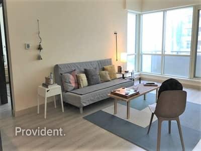 شقة 1 غرفة نوم للايجار في دبي مارينا، دبي - Vacant   Fully Fitted Kitchen   SZR View