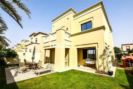 فیلا 3 غرف نوم للبيع في المرابع العربية 2، دبي - Three bedrooms | Single row | Landscaped