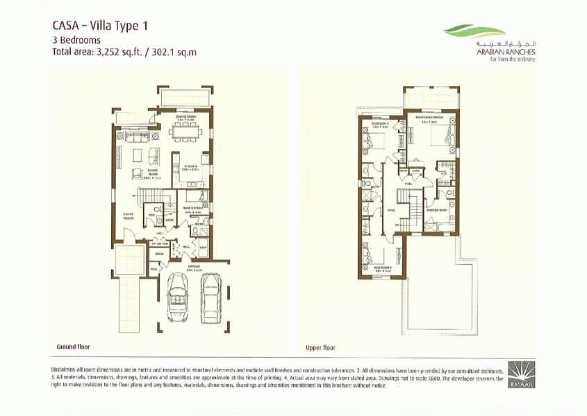 10 Three bedrooms   Single row   Landscaped