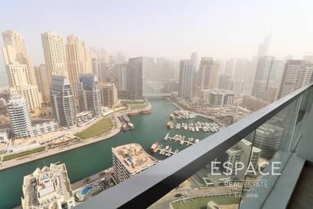 شقة 2 غرفة نوم للبيع في دبي مارينا، دبي - High Floor | Full Marina View | Immaculate